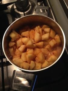 kip met appelmoes 3